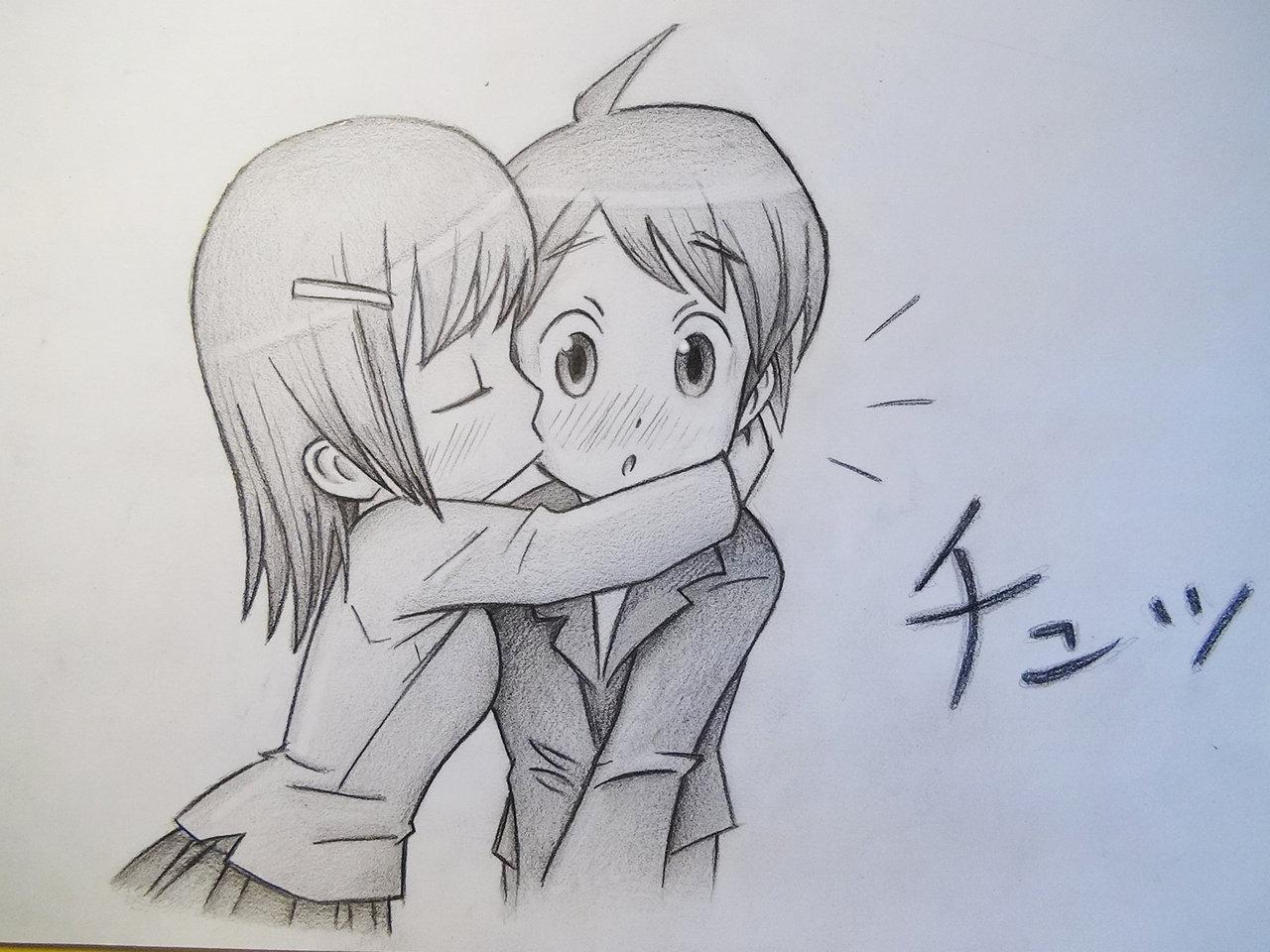 Прикольные картинки нарисованные аниме, дня гифы поздравление