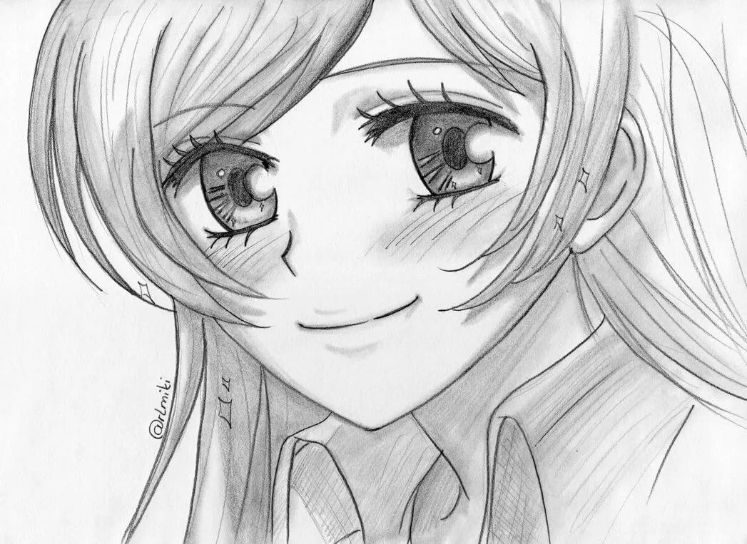 арты для рисования карандашом очень легко и красиво этом
