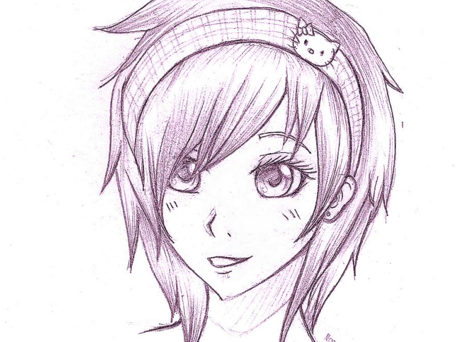 Срисовать, картинки для срисовки карандашом прикольные для девочек для начинающих