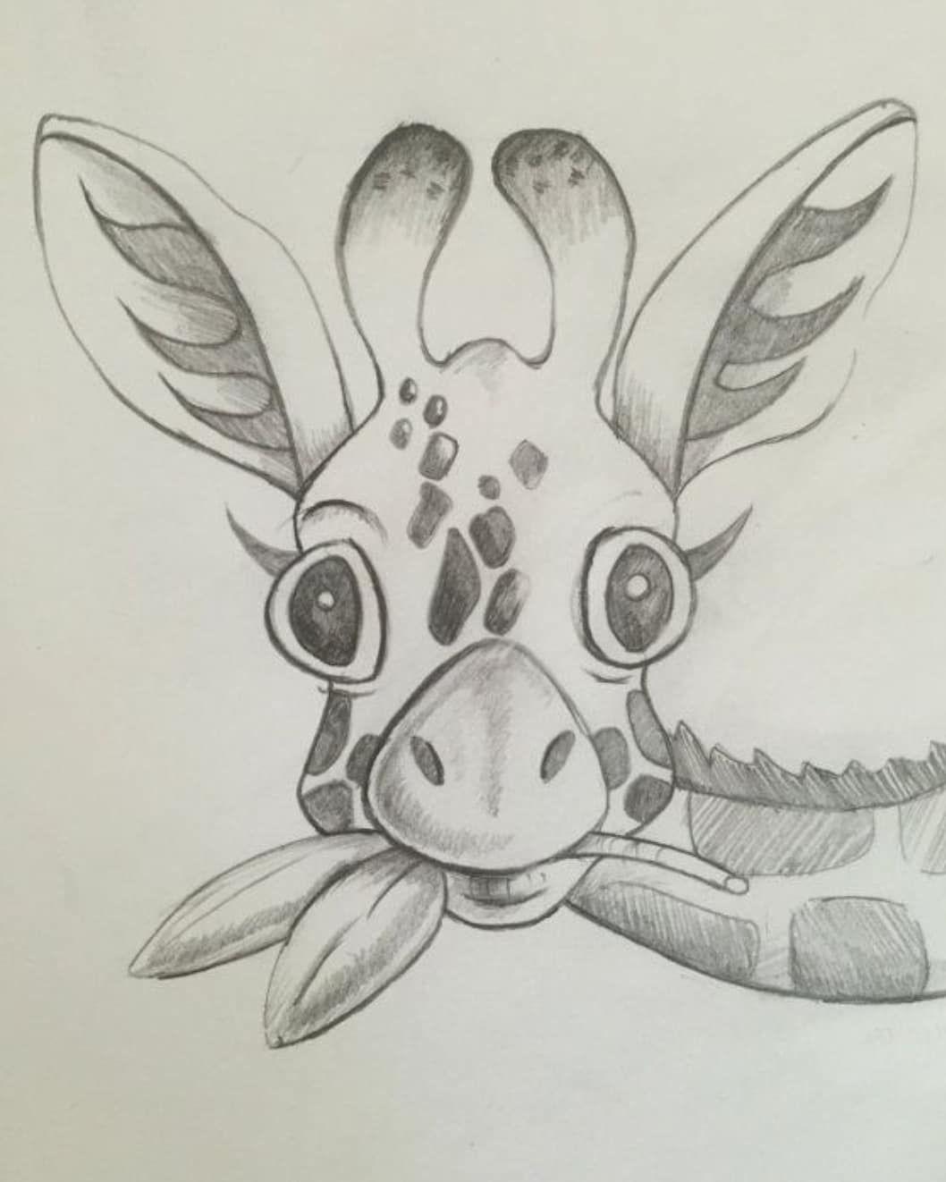 Открытки, прикольные рисунки карандашом животных