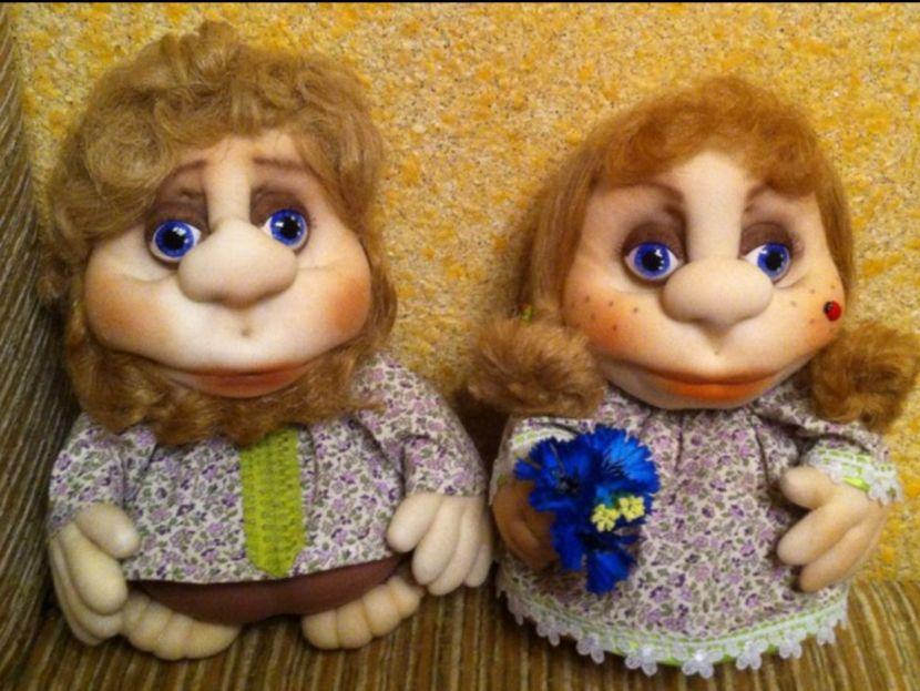 Голова куклы попка мастер класс