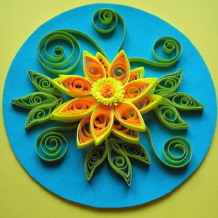 kvilingovye_podelki-4 Квиллинг для начинающих пошагово с фото: схемы с описанием, цветы как сделать и видео-уроки, мастер-класс поэтапно