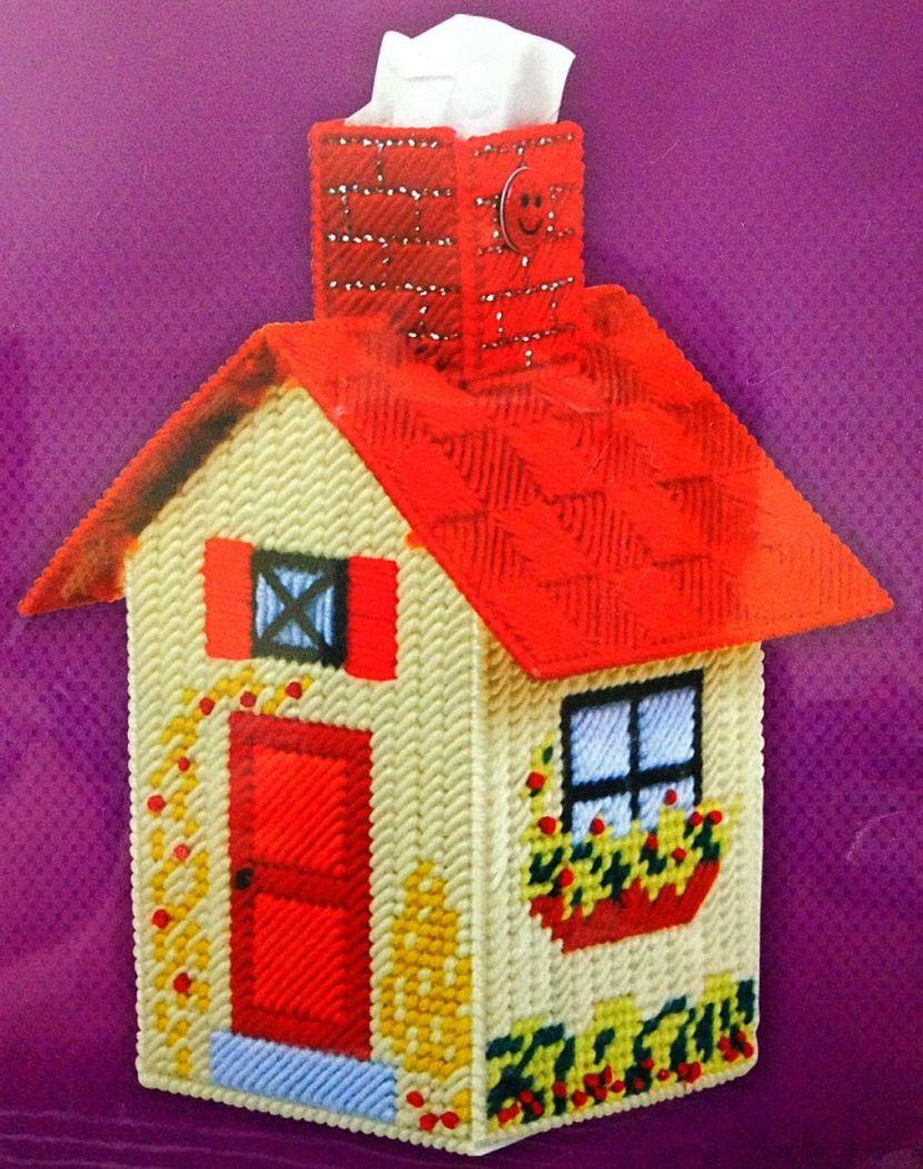 Детский домик из подручных материалов