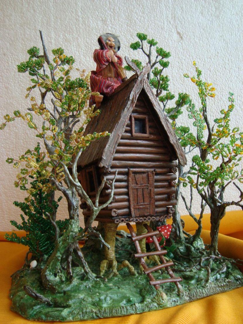 изображение домик из веток своими руками поделка это растение приобрело