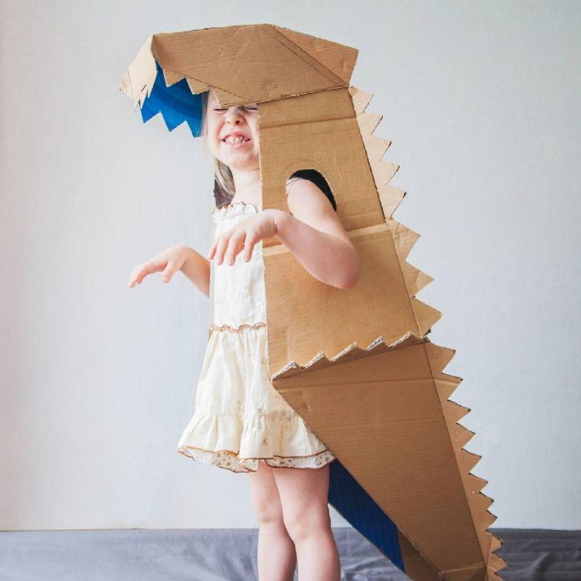 Как сделать из картонки