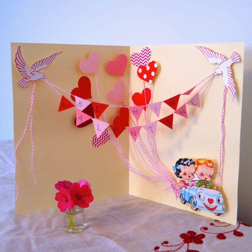 Оригинальные объемные открытки своими руками с днем рождения