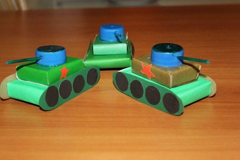 танк из спичечных коробков картинки развития компьютерной техники
