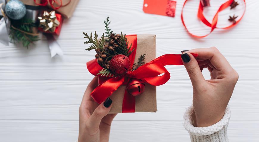 Упаковка подарков к Новому Году: лучшие идеи